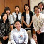 中野区長への「妊娠・出産・育児トータルケア事業」の現状報告